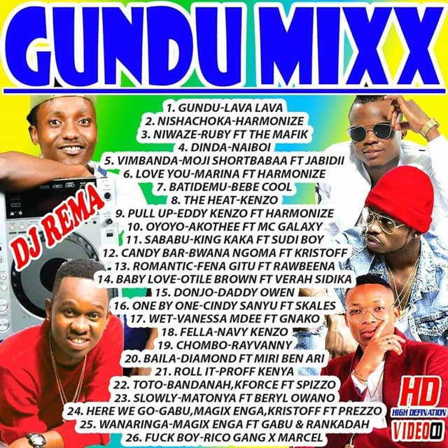 DJ REMA - GUNDU MIX Mp3