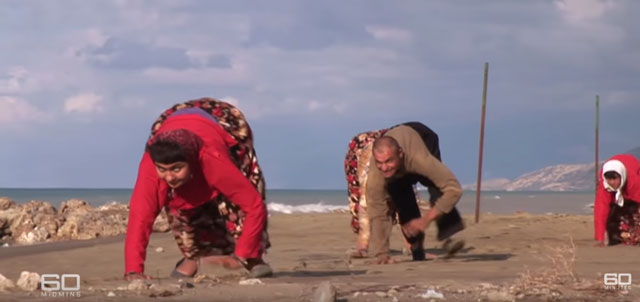 60 Minutes - Remote village where people walk on all fours news