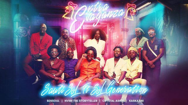 EXTRAVAGANZA by Sauti Sol ft Bensoul, Nviiri