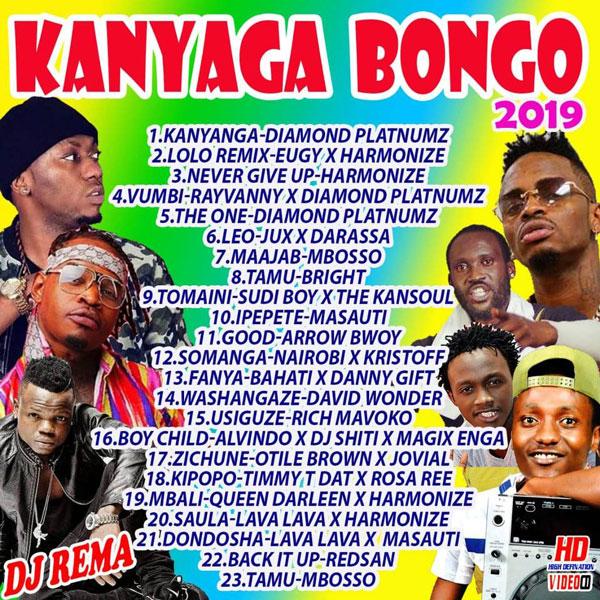 DJ Rema - Kanyaga Bongo Mix (2019)
