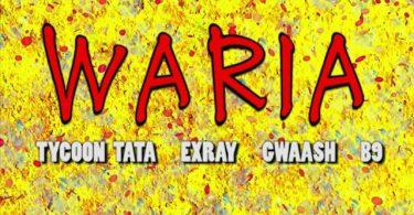 Tycoon Tata ft Exray, Gwaash, B9 - WARIA Mp3 Download