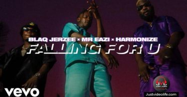 Thumbnail for audio song Falling for you by blaq jerzee ft mr eazi x harmonize