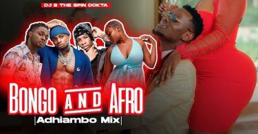DJ B TheSpinDokta Bongo x Afrobeats Wasafi Mix Mp3 Download