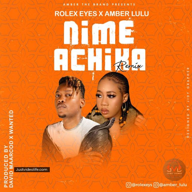 Amber Lulu ft Rolex Nimeachika Mp3 Download